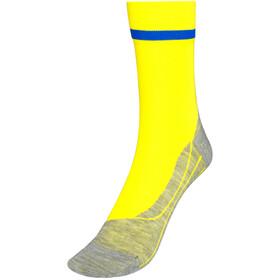 Falke RU4 Calze da corsa Uomo, giallo
